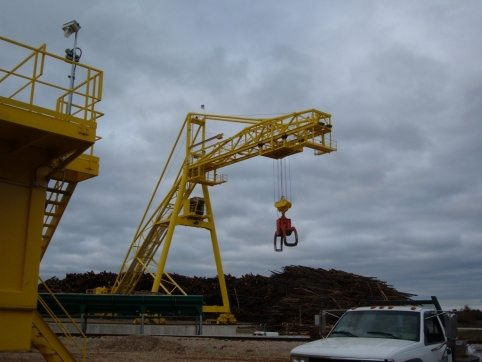 LogPro Radial Crane 2