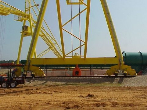 LogPro Radial Crane 8