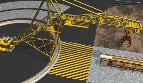 LogPro Radial Crane 40