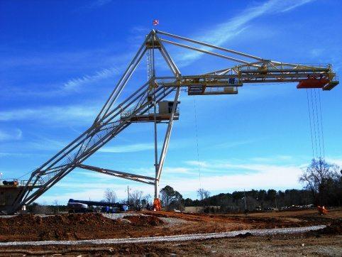 LogPro Radial Crane 18