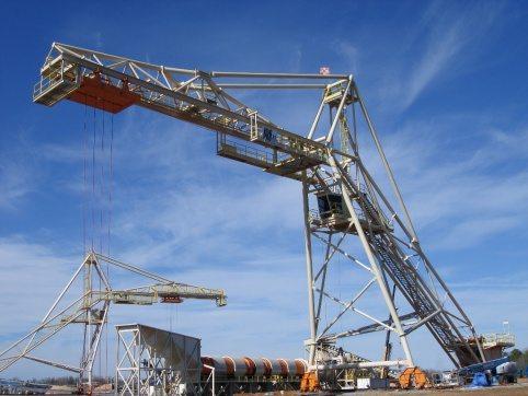 LogPro Radial Crane 26