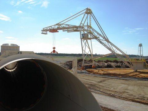 LogPro Radial Crane 35